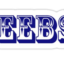 """Ceebs."" branded clothing Sticker"