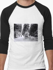 Cyclists in Stanley Park Men's Baseball ¾ T-Shirt