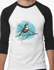 Black-capped Widow Men's Baseball ¾ T-Shirt