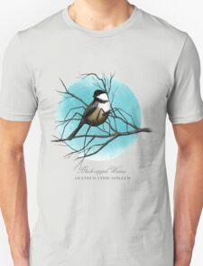 Black-capped Widow Unisex T-Shirt