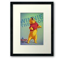 Winnie Badass Framed Print