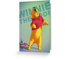 Winnie Badass Greeting Card