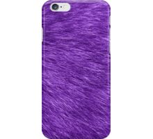 Fluffy Fur, Fur Texture, Pelage - Purple iPhone Case/Skin
