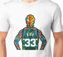 Larry Bird - Stained Glass Unisex T-Shirt