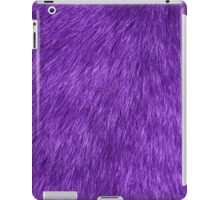 Fluffy Fur, Fur Texture, Pelage - Purple iPad Case/Skin