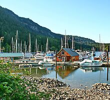 Genoa Bay by AnnDixon