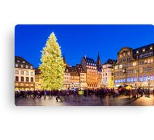 Christmas in Strasbourg Canvas Print