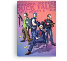 DuckTales Badass Canvas Print