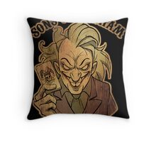 Sons of Arkham Throw Pillow