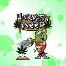 Harvest Moon/Weed by RawanAlsebaie