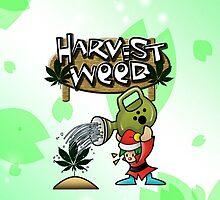 Harvest Moon/Weed by Rawan Alsebaie