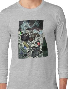Spider mice trash color Long Sleeve T-Shirt