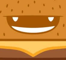 Cheeseburger! Sticker