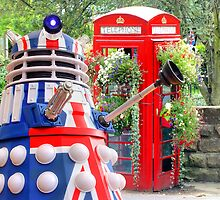 This Is Not The Tardis !! by Colin J Williams Photography