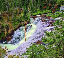 1st Tier of Terraced Falls by Brenton Cooper