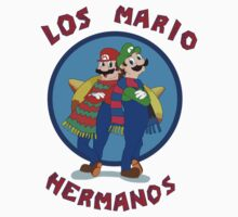 Los Mario Hermanos One Piece - Short Sleeve