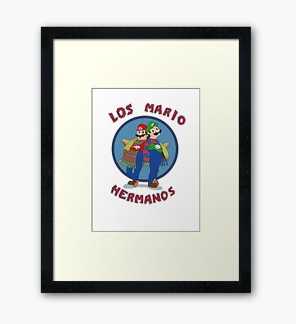 Los Mario Hermanos Framed Print