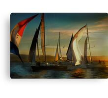 Where Spinnakers Come To Life Canvas Print