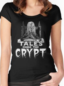 The Crypt Women's Fitted Scoop T-Shirt
