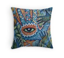 Hand of Fate Throw Pillow