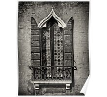 Old World Window Poster