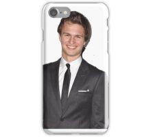 ansel elgort gq pillow  iPhone Case/Skin