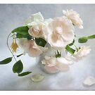 """""""Dr Van Fleet"""" Roses by LouiseK"""