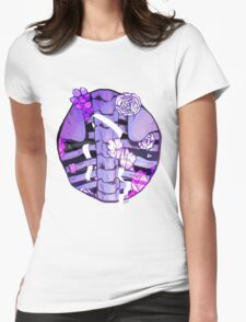 the ribbon Womens Fitted T-Shirt