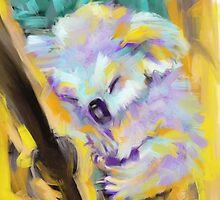 Wildlife Cuddle Koala by Go van Kampen