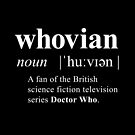 Whovian (noun) by soulthrow