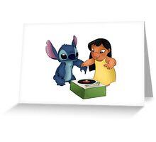 Lilo & Stitch Greeting Card