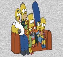 the crazy simpsons by Kim  golov