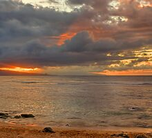 Ho'okipa Sunset by JamesA1
