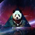 Hipster Panda by Stewart Leach