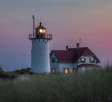 Race Point Light by Bill Wakeley
