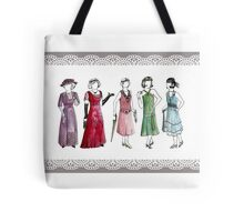 Downton Inspired Fashion Tote Bag