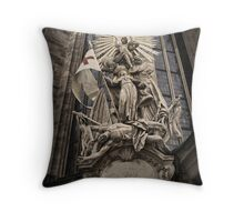 Vienna Austria, St.Stephens Cathedral Throw Pillow
