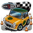 Austin Mini Cooper S by snuggles