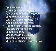 Doctor Who Poem by gracelikescats