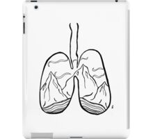 righteous lungs iPad Case/Skin