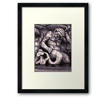 Vienna Austria, Neptune Fountain Framed Print