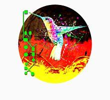digital hummingbird & (germany Flag) Unisex T-Shirt