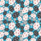 Abstract graphic pattern by Tanor