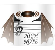 Ultra High Note Poster