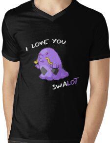 I Love You Swalot Mens V-Neck T-Shirt