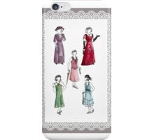 Downton Inspired Fashion iPhone Case/Skin