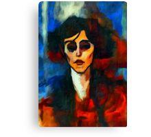 portrait of maude abrantesc Canvas Print