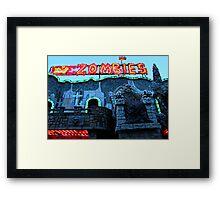 Praterstern Park, Zombies Framed Print