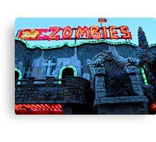 Praterstern Park, Zombies Canvas Print