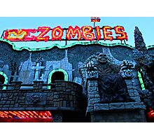 Praterstern Park, Zombies Photographic Print